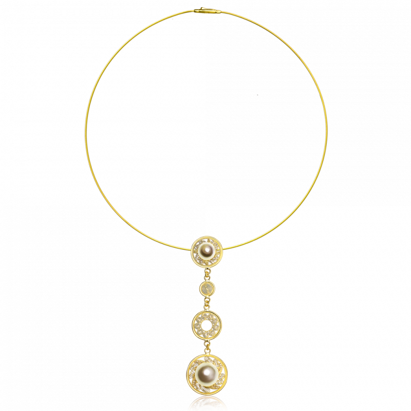 Bronze Era_gold pendant